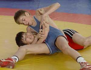 Прошел II турнир по греко-римской борьбе, посвященный памяти А.С. Карелина