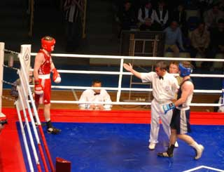 21 мая завершились предварительные бои «Динамиады — 2009»