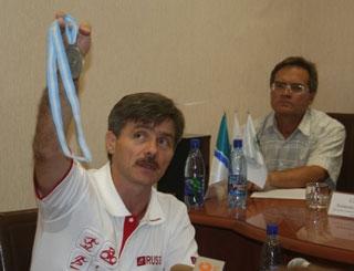 Волейболисты НЦВСМ заняли весь пьедестал почета на ЧР