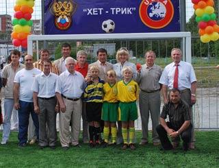 В Новосибирске появилось новое футбольное поле!