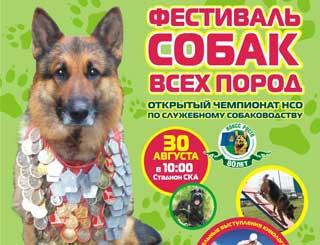 Кинологический праздник - «Фестиваль собак всех пород»
