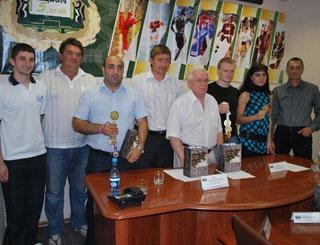 Пресс-конференция с чемпионами мира по подводному плаванию