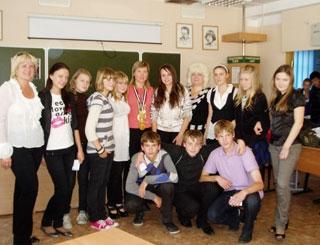 Анастасия Глухих провела встречу со школьниками