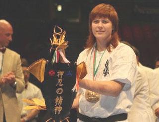 Мария Панова – чемпионка мира по киокусинкай