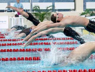 В Москве проходит второй этап Кубка мира по плаванию