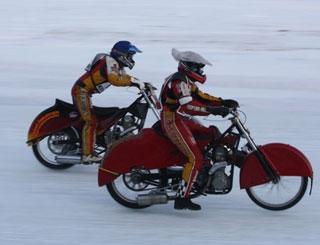 Мотогонки - «Трое новосибирцев в полуфинале»