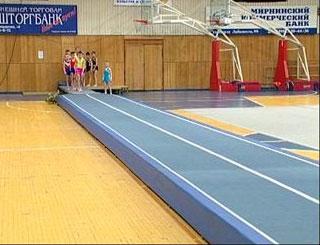 Первенство Сибири по прыжкам на акробатической дорожке