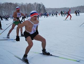 День влюбленных в лыжные гонки