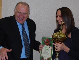 Волейболистки НЦВСМ бронзовые призеры