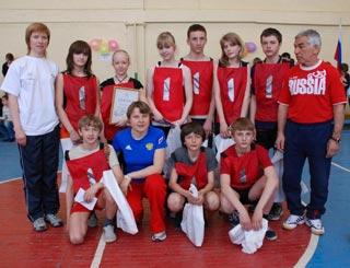 «ОЛИМПИЙСКАЯ ЭСТАФЕТА» для школьников поселка Краснообск