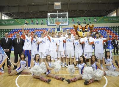 Сибирьтелеком-Локомотив  завоевал серебряные медали суперлиги  Б.