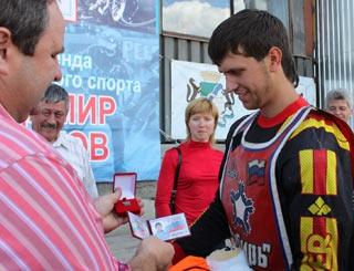 Поздравляем Максима Корчемаху с вручением удостоверения мастера спорта России!
