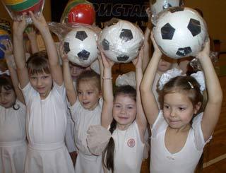 Любовь к спорту начинается с детского сада