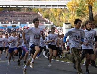 Прошел Всероссийский день бега «Кросс нации»