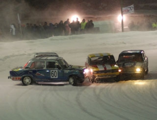 Ледовые автогонки стартуют 26 февраля