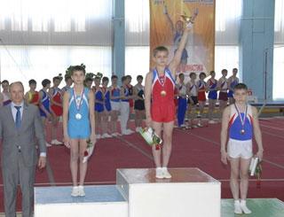 Спартакиада учащихся России по спортивной гимнастике