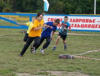 День физкультурника Заельцовского района