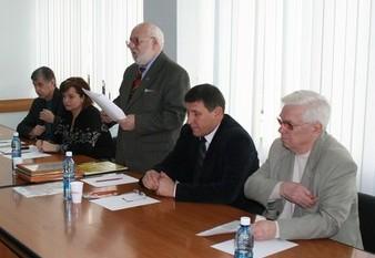 Совет старейшин отчитался перед ветеранами спорта