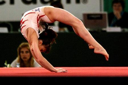 В Красноярске определились участницы первенства страны по спортивной гимнастике