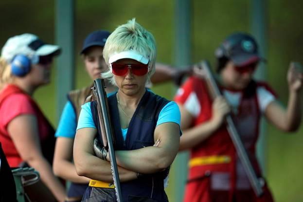 Ольга Панарина выигрывает второй этап кубка России по стендовой стрельбе