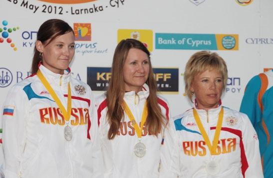 Ольга Панарина и Надежда Коновалова – серебряные призеры чемпионата Европы по стендовой стрельбе