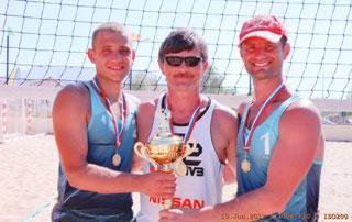 Евгений Кириллов и Станислав Синельников – двукратные чемпионы России по пляжному волейболу