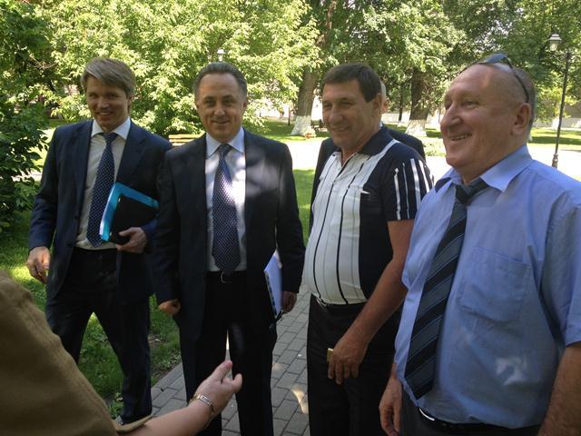 Рабочий визит в Министерство спорта России по вопросам  проведения Международных детских Игр «Спорт – Искусство – Интеллект»