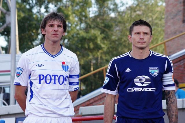 Первый домашний матч футбольного клуба Сибирь завершился результативной ничьей