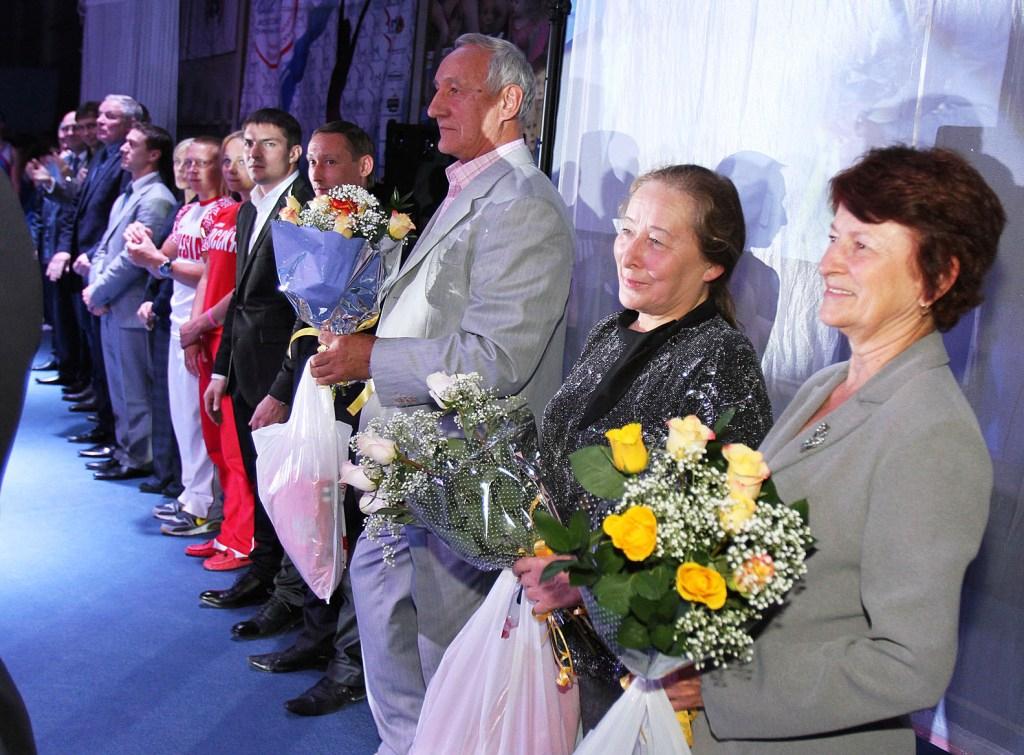 Открытие турнира Подгорного