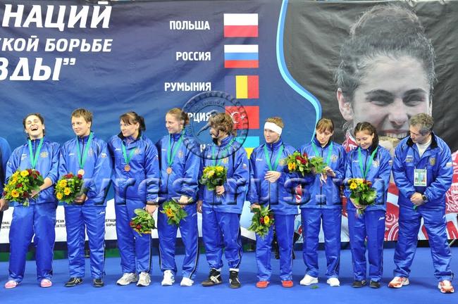 Бронзовый дебют российских девушек.