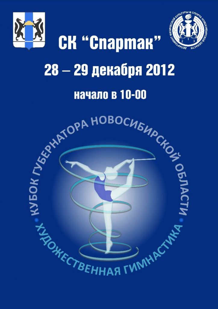 В Новосибирске разыграют Кубок Губернатора по художественной гимнастике