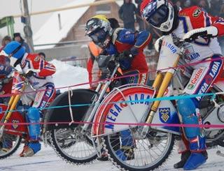 Новосибирские мотогонщики завоевывают серебро