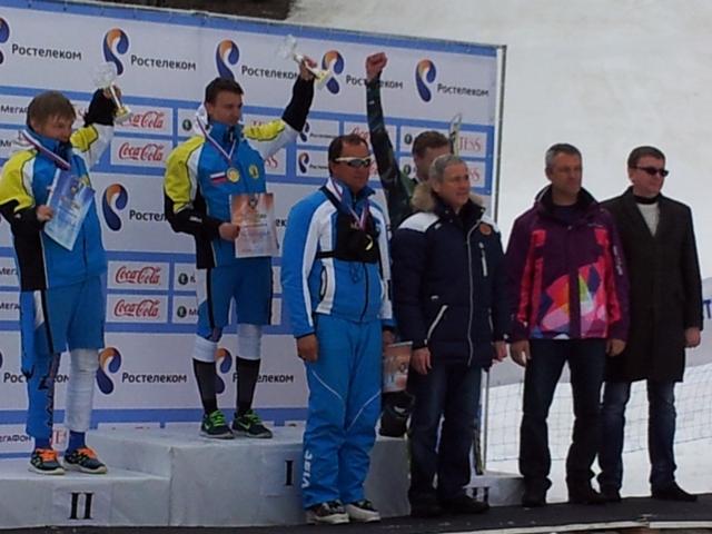 Александр Ветров завоевал 4 медали на чемпионате России