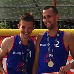 Алексей Ютвалин и Григорий Гончаров выиграли второй этап чемпионата России по пляжному волейболу