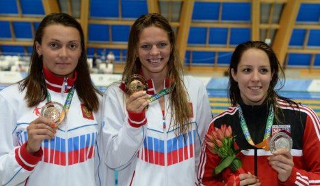 Новосибирская пловчиха Валентина Артемьева считает, что на финише  потеряла фазу расслабления