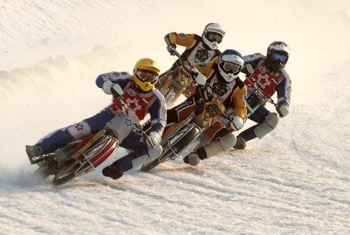 Несмотря на погоду, чемпионат России по мотогонкам на льду состоится!