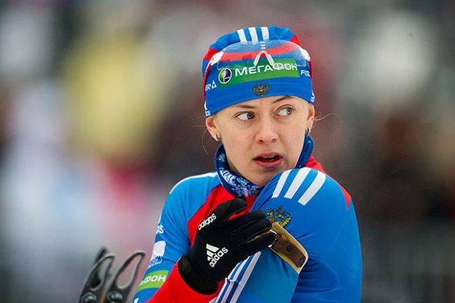 Ольга Вилухина вошла в состав олимпийской сборной России по биатлону