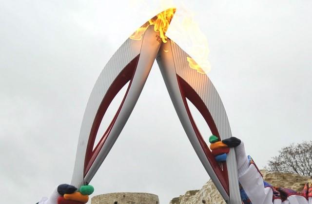 В Новосибирскую область доставлен факел Огня Олимпиады