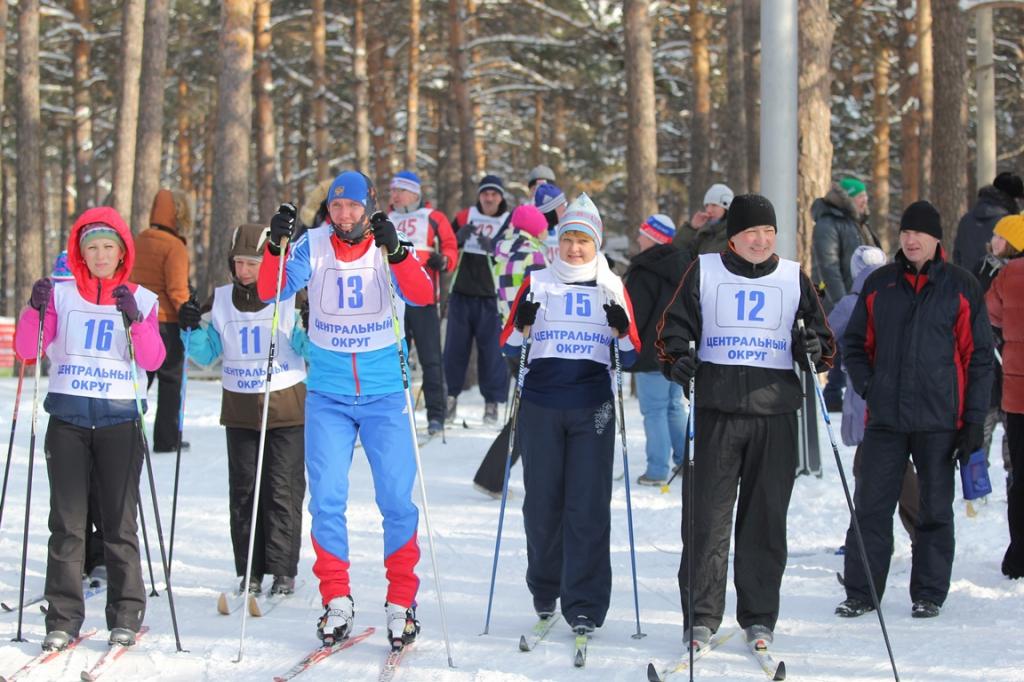 XII зимняя Спартакиада города Новосибирска