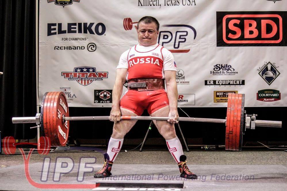 Сергей Федосиенко готовится к новому мировому рекорду
