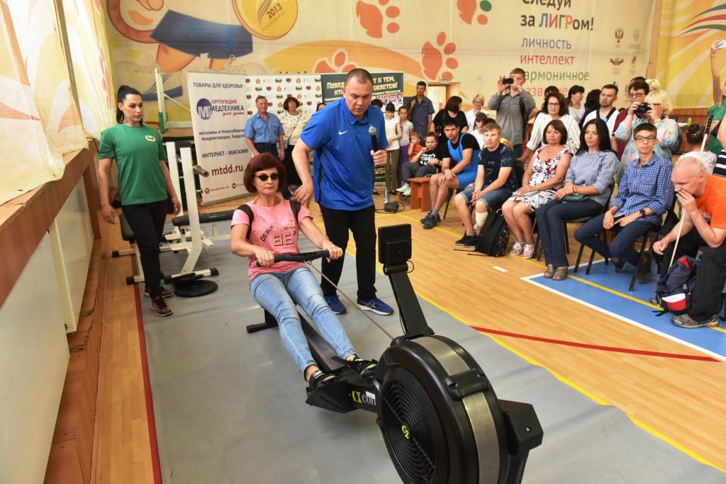 В НЦВСМ прошёл квест по адаптивным видам спорта - фотоотчёт