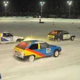 Вечерние ледовые автогонки, посвященные Дню защитника Отечества