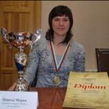 Чемпионка Европы из Новосибирска