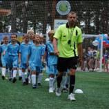 5 июля состоялось официальное открытие нового футбольного поля в парке культуры и отдыха «У моря» (РК «Бумеранг») в Советском районе Новосибирска.