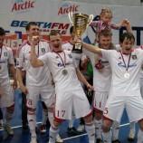 «Сибиряк» стал серебряным призером Чемпионата России