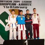 Новосибирский каратист стал призером первенства Европы