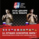 Сильнейшие боксеры планеты снова в Новосибирске!