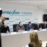 В агентстве «Интерфакс» состоялась пресс-конференция, посвященная чемпионату России по хоккею (спорт глухих)