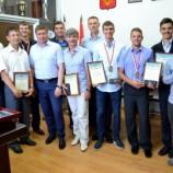 Руководитель департамента Сергей Ахапов принял победителей первенства Европы