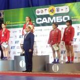 Новосибирские самбисты вернулись с этапа Кубка мира с медалями